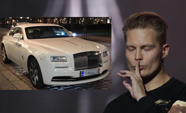 Cheekin eli Jare Tiihosen Rolls-Royce Wraith Coupé -merkkisen auton hinnalla saisi vaikka asunnon.