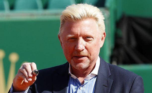 Saksalainen ex-tennistähti Boris Becker kamppailee tällä hetkellä rahavaikeuksiensa kanssa.