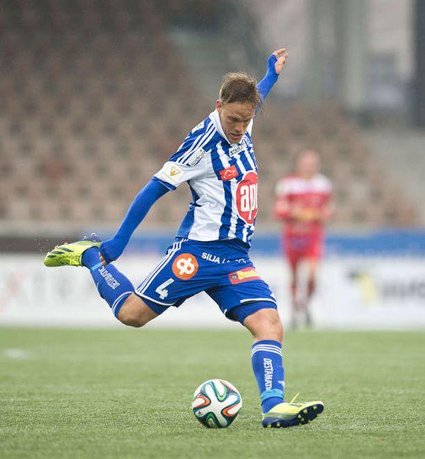 HJK:n Mika Väyrynen kohtaa keskiviikkona FC Lahden.