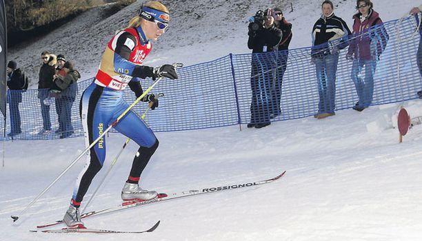 HALLITSIJA Virpi Kuitunen puolustaa Tour de Skin voittoa viime kaudelta.