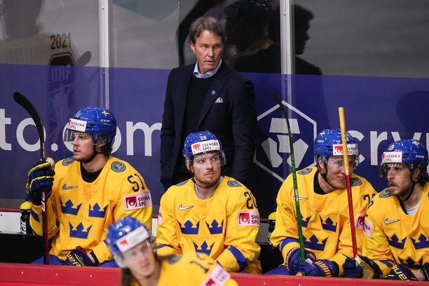 Johan Garpenlöv oli ensimmäistä kertaa päävalmentajana MM-tasolla.