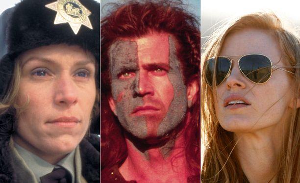 Fargo, Braveheart - taipumaton ja Zero Dark Thirty ovat perjantai-illan elokuvia.