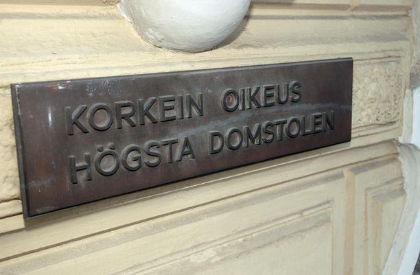 Korkein oikeus purki Helsingin hovioikeuden antaman tuomion.