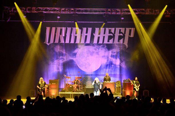 Uriah Heep keikkailee aktiivisesti edelleen.