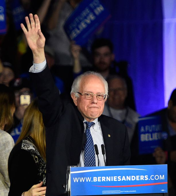 Bernie Sanders vetoaa nuoriin.