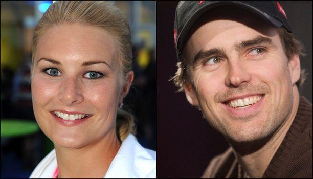 Taina Nyberg vahvistaa seurustelun.