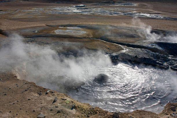 Islannin Kraflaa käytetään mieluusti elokuvien ja tv-sarjojen kuvauskohteena.
