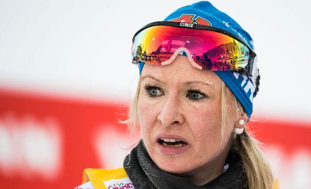 Riitta-Liisa Roposta ei nähdä Lahden MM-laduilla.
