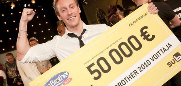 BB:n voitti viime vuonna jo toista kertaa talossa ollut Niko Nousiainen.
