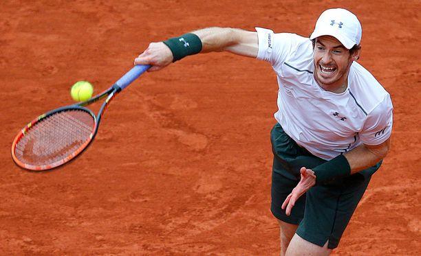 Andy Murray jahtaa uransa ensimmäistä Ranskan avointen voittoa.