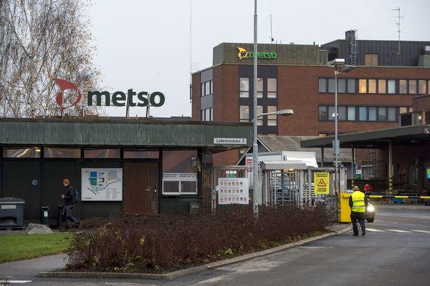Metso Minerals ja Outotec yhdistyvät uudeksi suuryhtiöksi. Kuva Metso Mineralsin tehtaalta Tampereelta.