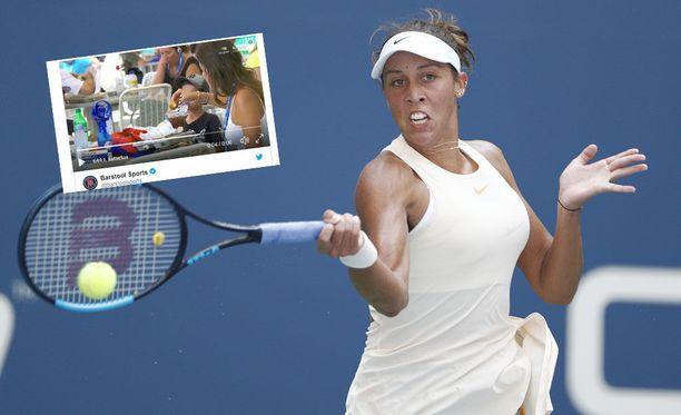 Madison Keys on edennyt US Openin välieriin.
