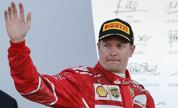 Kimi Räikkönen oli lähellä paalupaikkaa Sotshissa.