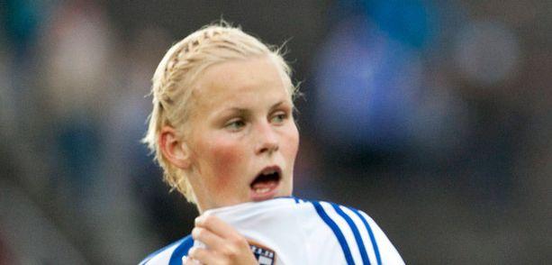 Annica Sjöblom teki Suomen ainokaisen.