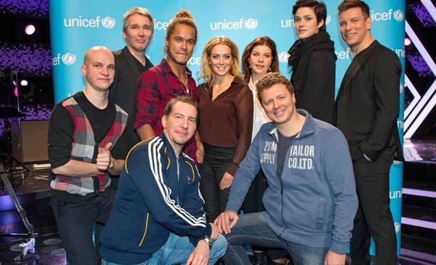 Kingin näyttelijät tekivät viime viikolla suositun Unicef-jakson.
