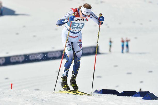 Oskar Svensson luotti tasatyöntöön, vaikka kärki karkasi heti ensimmäisessä nousussa.