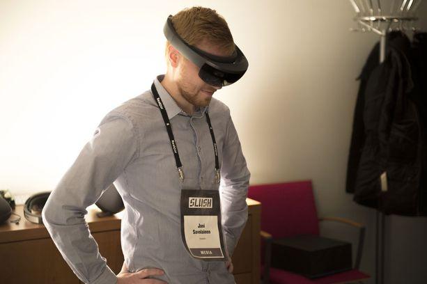 Hololens-lasit on pisimmällä oleva lisätyn todellisuuden laite.