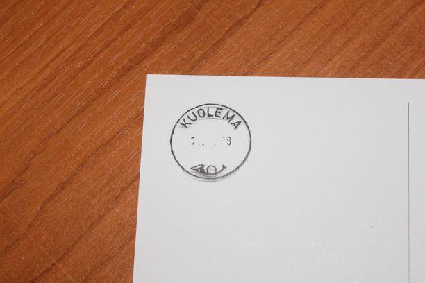 Kuoleman kylällä oli menneinä vuosikymmeninä myös oma posti.