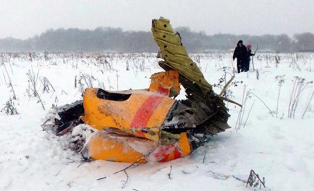 Kone ei räjähtänyt ilmassa, vaan vasta osuessaan maahan, kertovat tutkijat.
