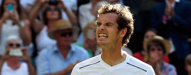 Andy Murrayn (kuvassas) mukaan ottelu Ivo Karlovicia vastaan oli henkisesti raskas.