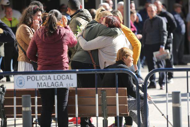 Sunnuntai Málagassa oli tunteellinen.