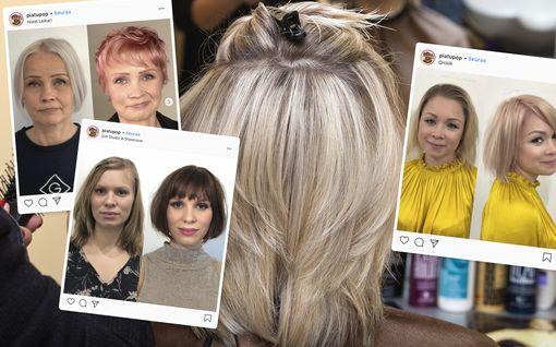 Imartelevin hiusmalli juuri sinulle! Hoikistavat tukkakikat todella toimivat –vertaa kuvat