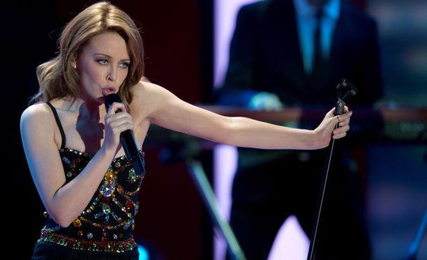 Kylie Minogue esiintyy ensi kesänä Porissa.