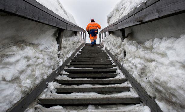Talvivaaran kaivoksella sattui torstaina ikävä onnettomuus. Arkistokuva.