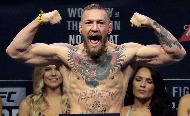 Conor McGregor on saanut nyrkkeilylisenssin.