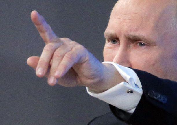 Putinin massiivinen lehdistötilaisuus kesti lähes kolme ja puoli tuntia.
