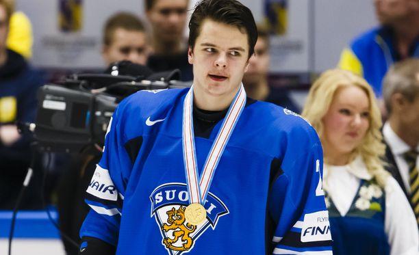 Henri Ikonen kuului Karri Kiven kultajoukkueeseen vuonna 2014.