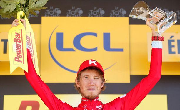 Ilnur Zakarin voitti Ranskan ympäriajon 17:nnen etapin hieman yli viikko sitten.