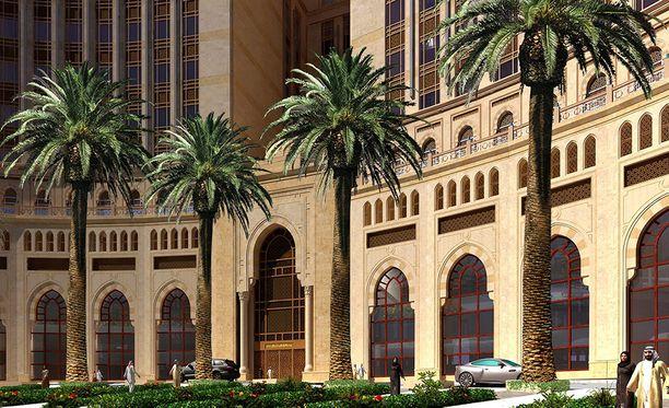 Hotellin rakentamisen rahoitaa Saudi-Arabian valtiovarainministeriö.