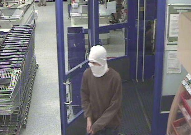 Valvontakamera tallensi ryöstön videolle.