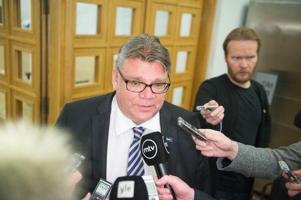 Timo Soini kertoo, että Veikko Vennamo ei koskaan julkisesti arvostellut häntä.