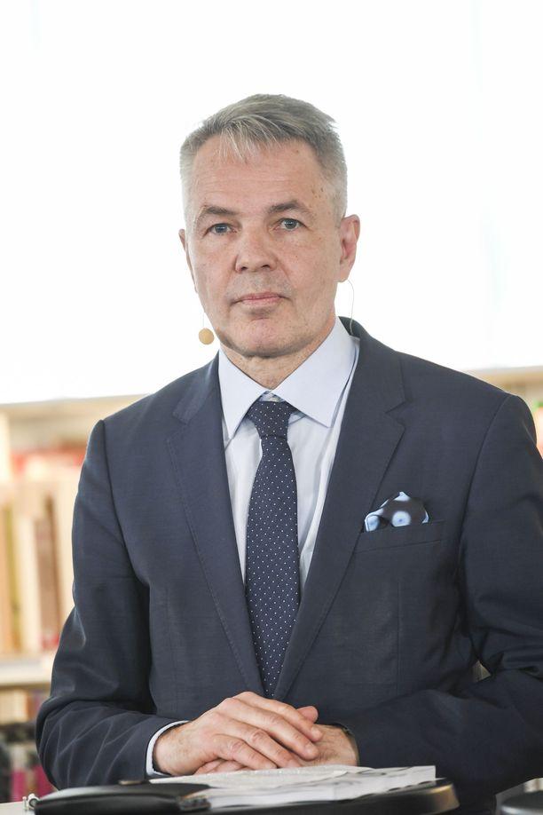 Ulkoministeri Pekka Haavisto (vihr) muistuttaa, että Syyriaan matkustaneet henkilöt ovat menneet konfliktialueelle Suomessa annettujen matkustuskieltojen vastaisesti.