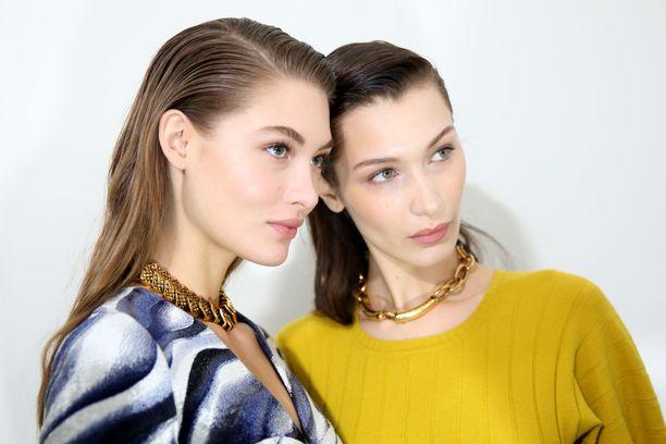 Grace Elizabeth ja Bella Hadid ovat malleja, joilla on virheetön iho. Täydellinen iho on monien tavoite.