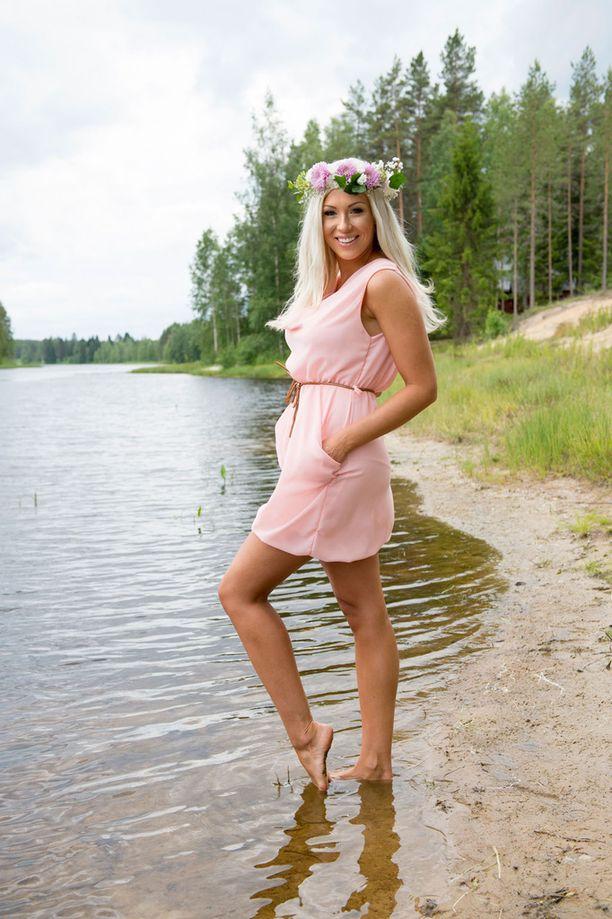 Kuvassa Maisa kuvattuna heinäkuussa.
