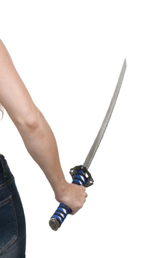 Avovaimon mukaan hän piti miekan kaiken aikaa maata vasten. Käräjäoikeus ei uskonut naista. Kuvituskuva