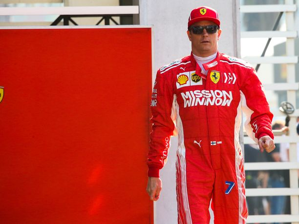 Kimi Räikkönen jäi Meksikon GP:n aika-ajoissa kuudenteen lähtöruutuun.
