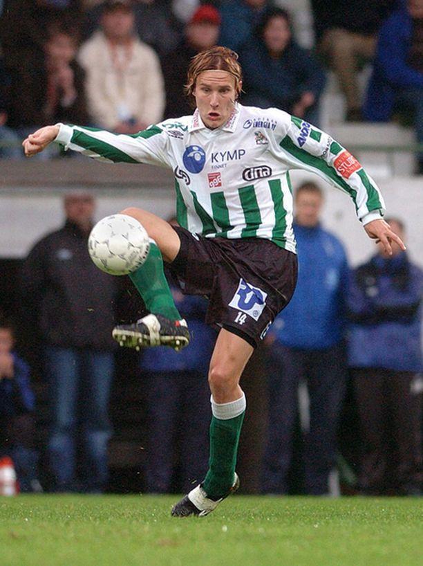 Markus Paatelainen on aiemmin edustanut Veikkausliigassa muun muassa KooTeePeetä.