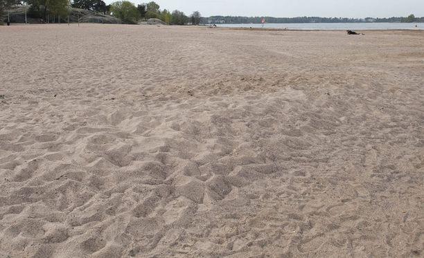 Kuvan ranta ei liity tapaukseen.