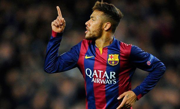 Neymar ei viihdy Englannin mutakentillä.