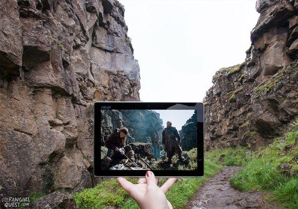 Fanitytön silmin maailma näyttää toisenlaiselta. Islannissa näkyy Game of Thrones.