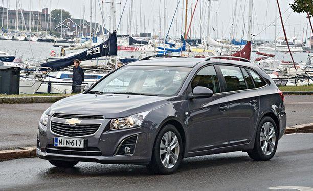 Cruze on ollut Chevroletin ykkösmalli Suomessa.