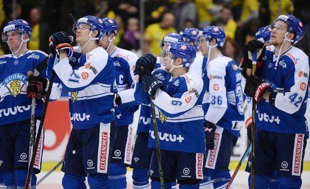Suomi taipui Ruotsille viime torstain maaottelussa.