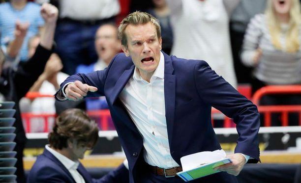 Tuomas Sammelvuo on intohimoinen valmentaja.
