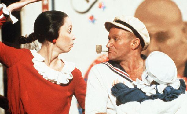 Duvall ja Robbie Williams näyttelivät yhdessä Kippari Kalle -elokuvassa vuonna 1980.