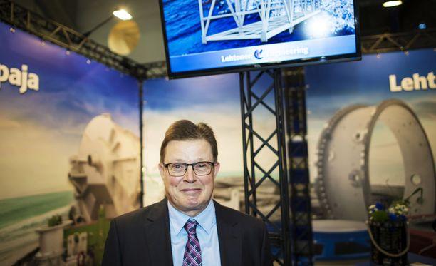 Lehtosen Konepaja Oy:n toimitusjohtaja Erkki Lehtonen.