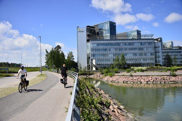 Nokian pääkonttori oli Espoon Keilaniemessä. Nykyään siellä pitää majaansa Microsoft. KUVA: PASI LIESIMAA/IL.